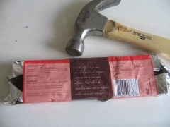 chocolate and hammer